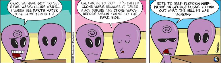 Strip 24: Clone Wars