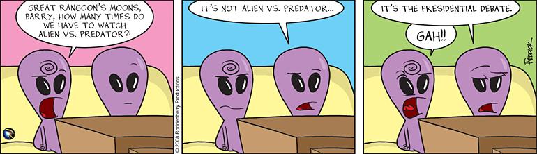 Strip 41: Alien vs Predator?