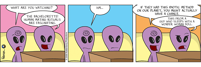Strip 44: Bachelorette