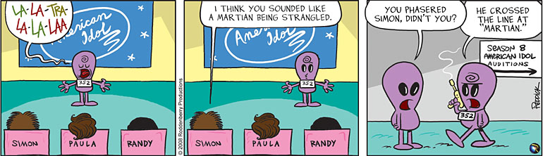 Strip 53: Idol Auditions