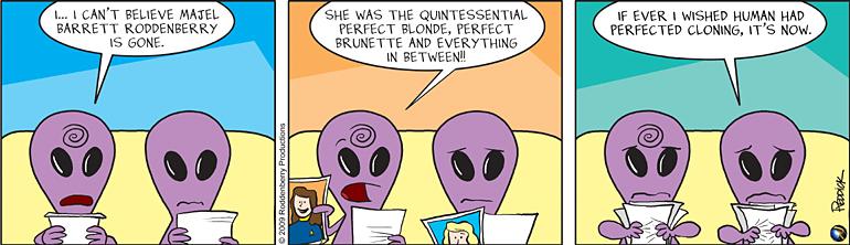 Strip 63: Cloning Majel