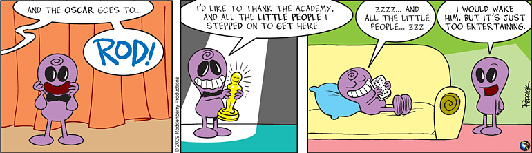 Strip 72: And The Oscar Goes To…