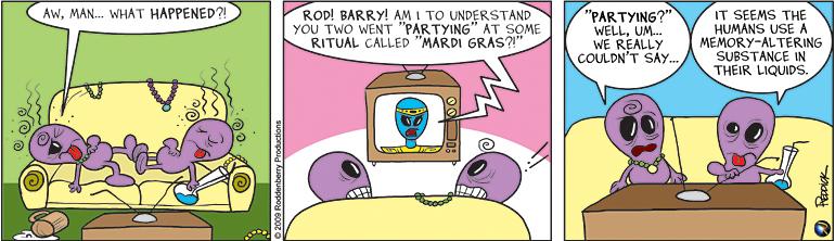 Strip 73: Mardi Gras