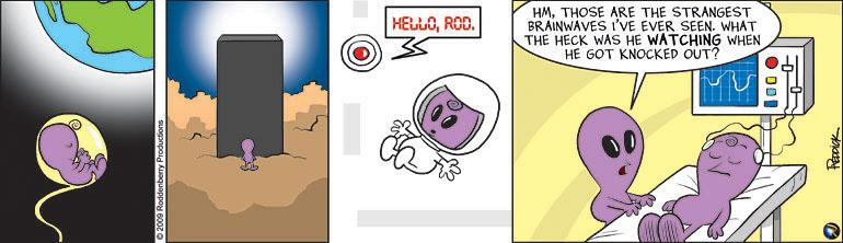 Strip 113: 2009 Space Odyssey