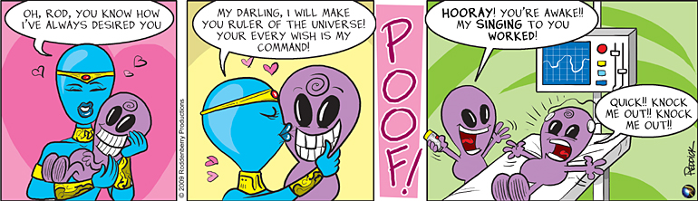 Strip 114: Rod's Matrix