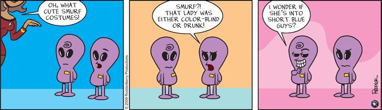 Strip 121: Smurf