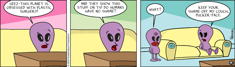 Strip 136: Pucker Face