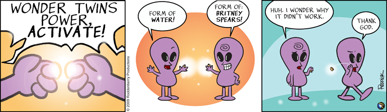 Strip 144: Wonder Twins Power