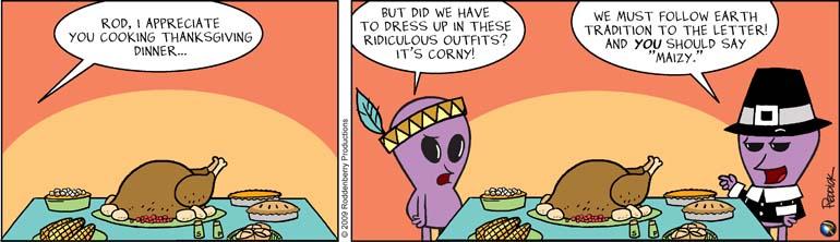 Strip 153: Corny