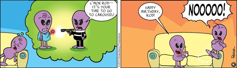 Strip 172: Rod's Run