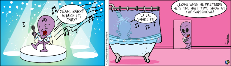 Strip 173: Superbowl