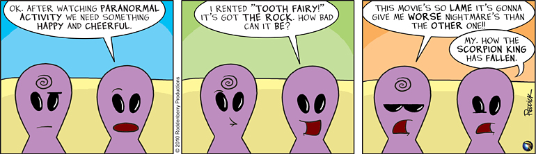 Strip 185: The Tooth Does Hurt