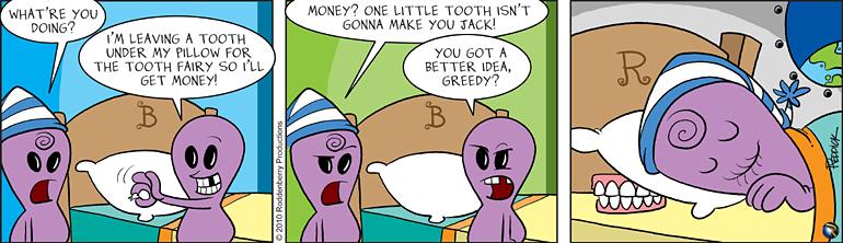 Strip 186: The Denture Fairy