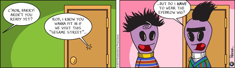 Strip 195: Bert & Ernie