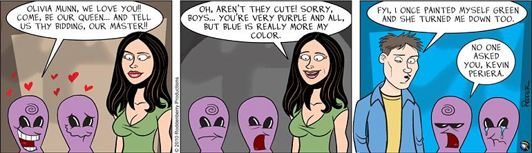 Strip 236: Blue's My Color
