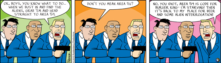 Strip 252: Area 54