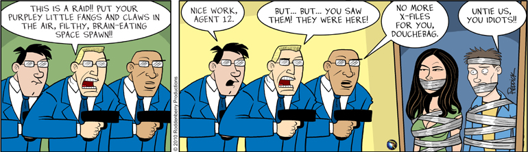 Strip 255:  You're Not Them..
