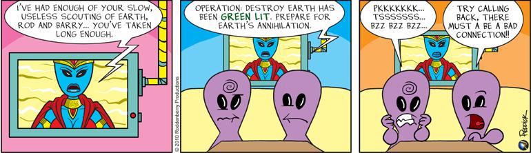 Strip 262: Greenlit