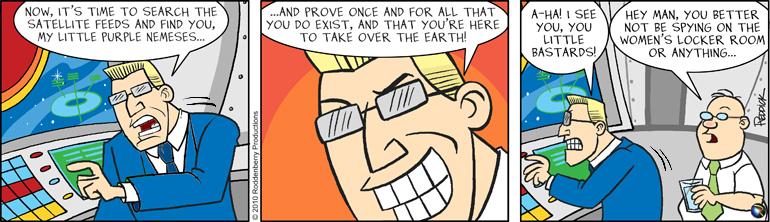 Strip 267: Searching Satellites