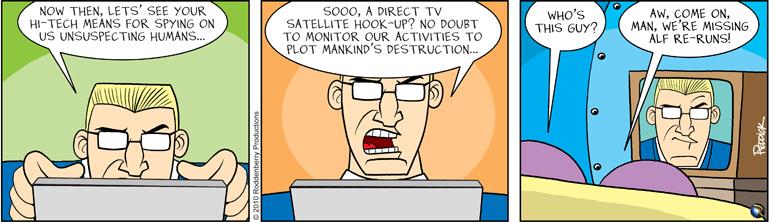 "Strip 269: ""Direct TV"""