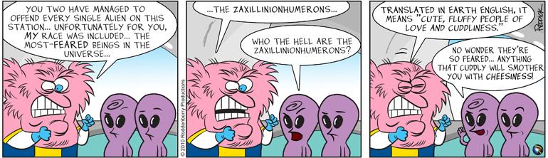 Strip 283: Laxillinionhumerous
