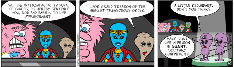 Strip 289: High Treason