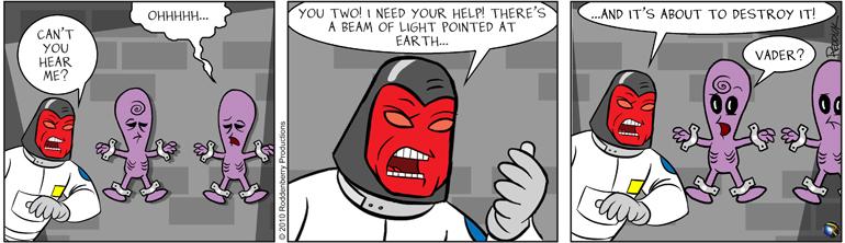 Strip 304: Earth's in Danger