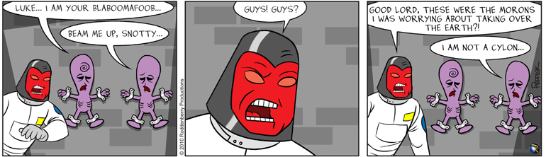 Strip 305: Out of It