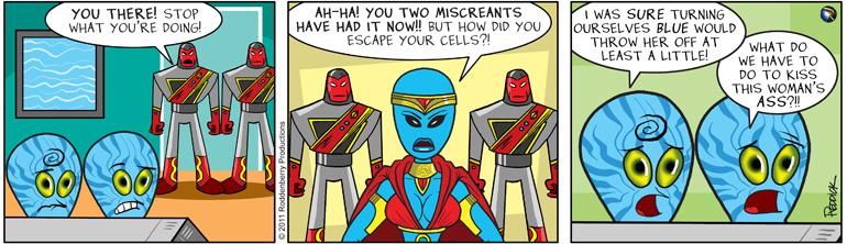 Strip 316: Miscreants