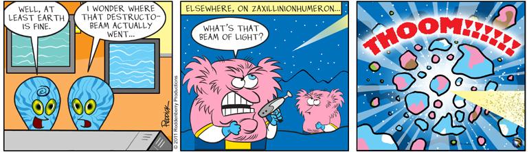 Strip 322: Beam of Light
