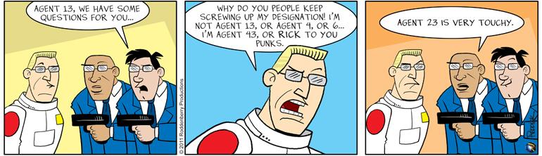 Strip 328: My Name is Rick