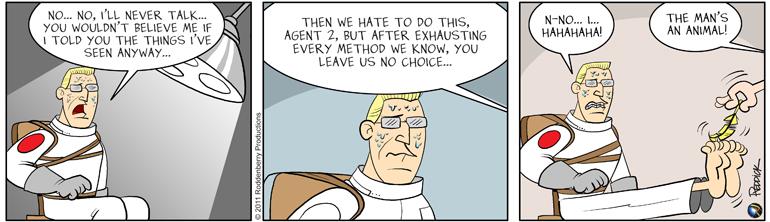 Strip 330: Interrogation