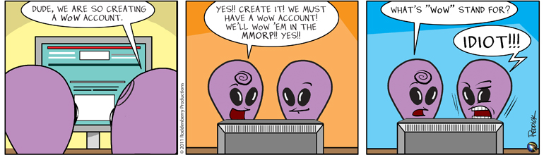 Strip 340: WoW