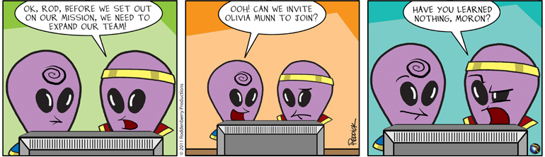 Strip 354: Expand the team