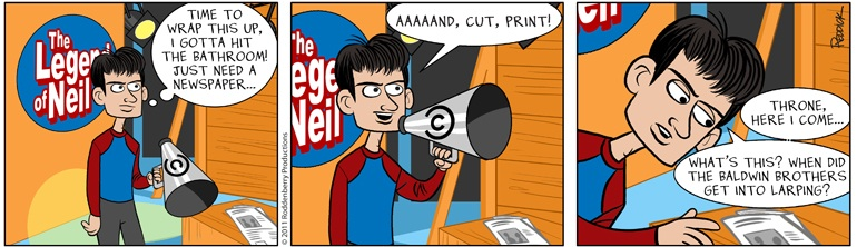 Strip 384: Cut Print