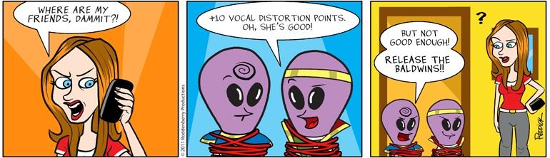 Strip 391: Vocal Distortion