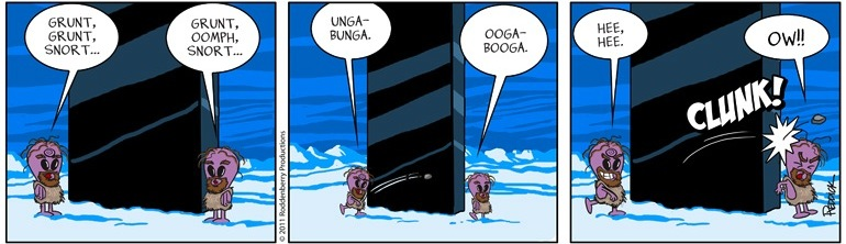 Strip 444: Ooga Booga