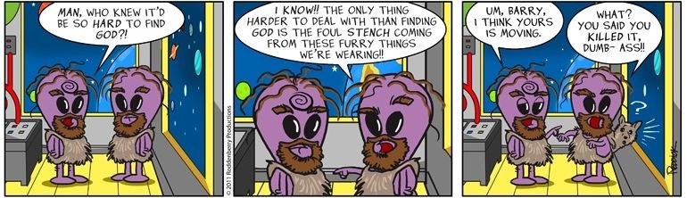 Strip 446: Still Alive