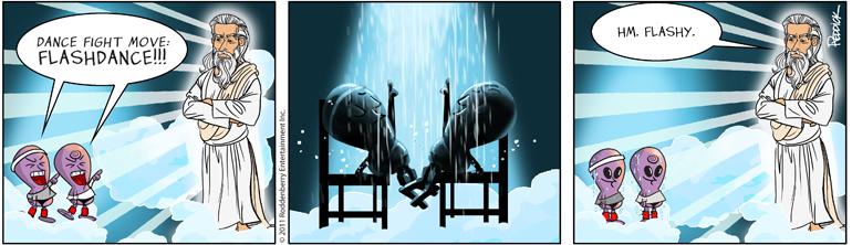 Strip 459: Flashdance
