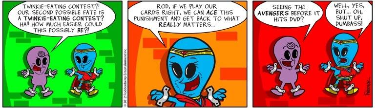 Strip 531: Avengers