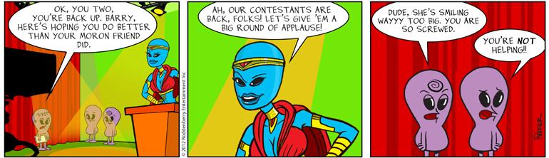 Strip 553: Not Helping