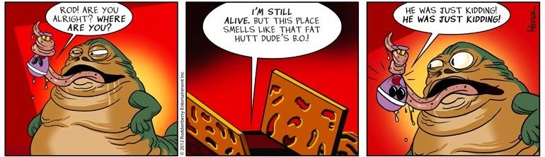 Strip 576: Kidding