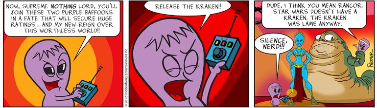 Strip 581: Kraken