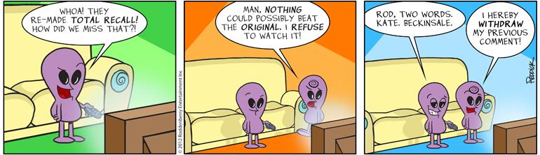 Strip 602: Total Recall