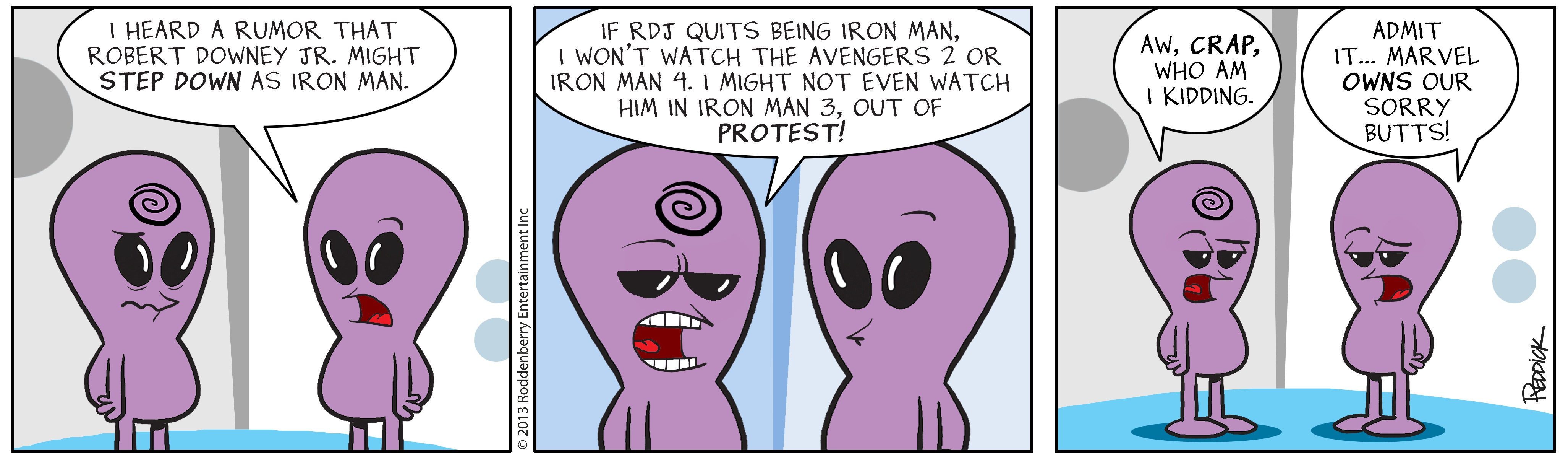 Strip 636: Marvel