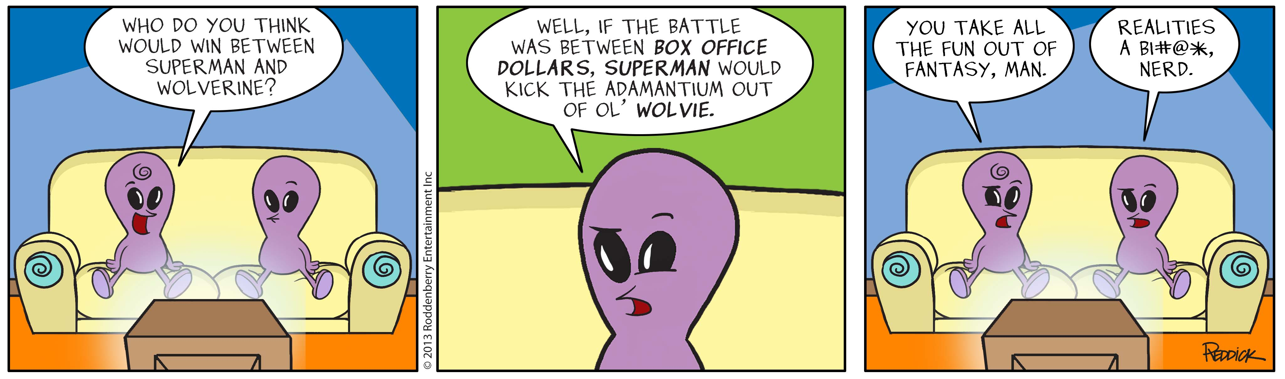 Strip 649: Box Office